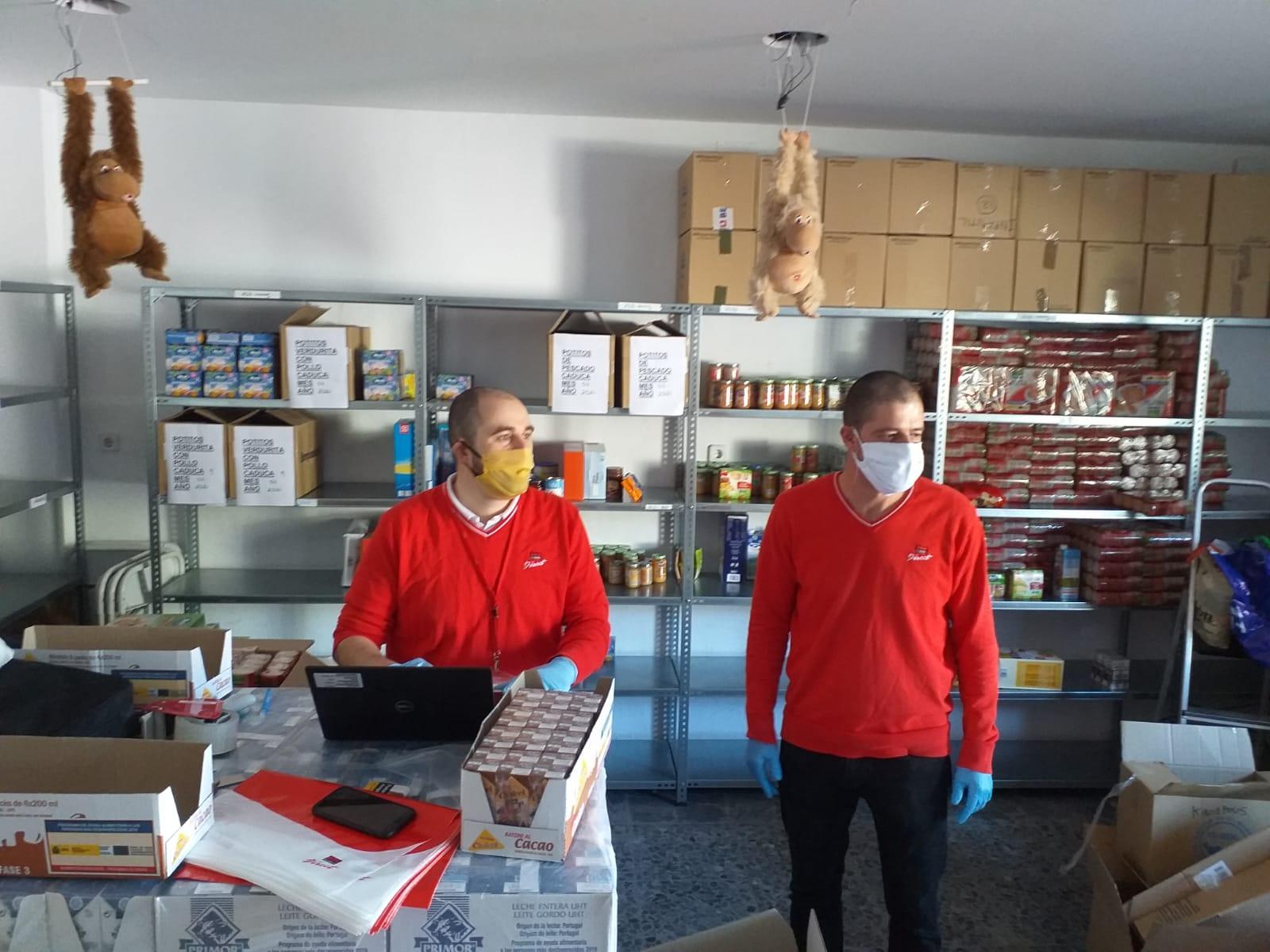 La red de voluntarios de Securitas Direct se pone a disposición de los colectivos más vulnerables frente al Covid-19 en Granada