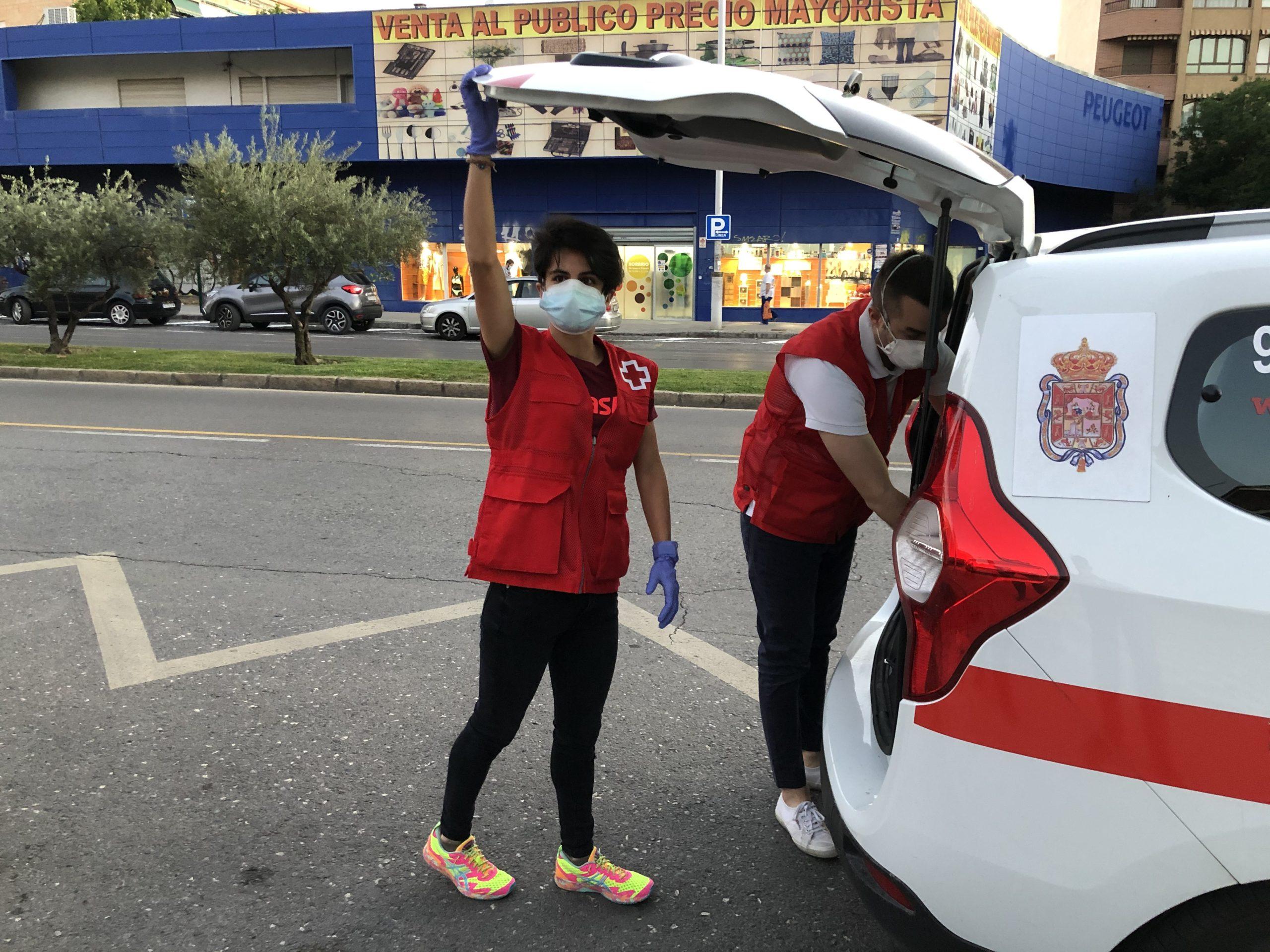María Pérez en Cruz Roja Responde