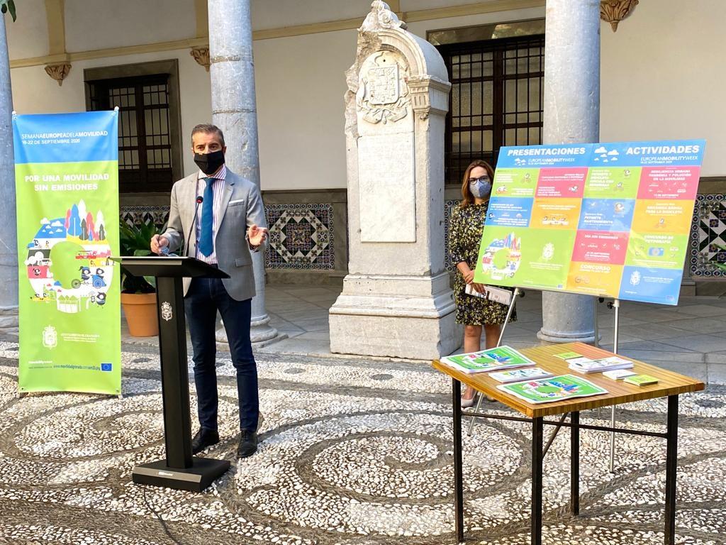 Granada celebra del 16 al 22 de septiembre la Semana Europea de la Movilidad con el reto de reducir los índices de contaminación atmosférica