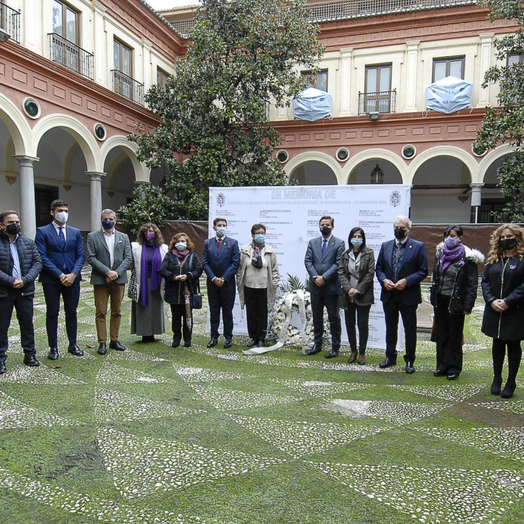 El Ayuntamiento de Granada condena cualquier tipo de violencia contra las mujeres y las niñas