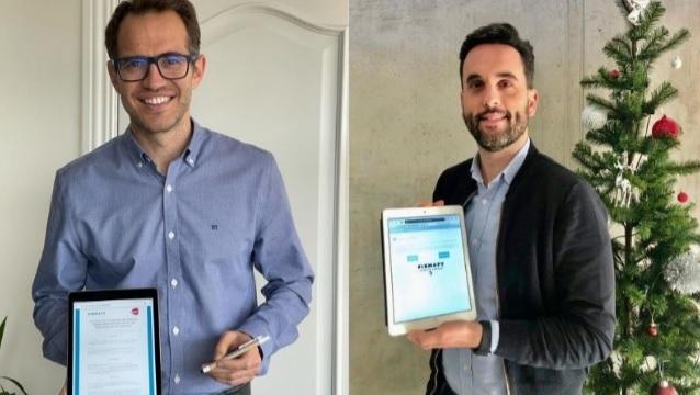 Firmafy y AJE Granada renuevan su convenio de colaboración
