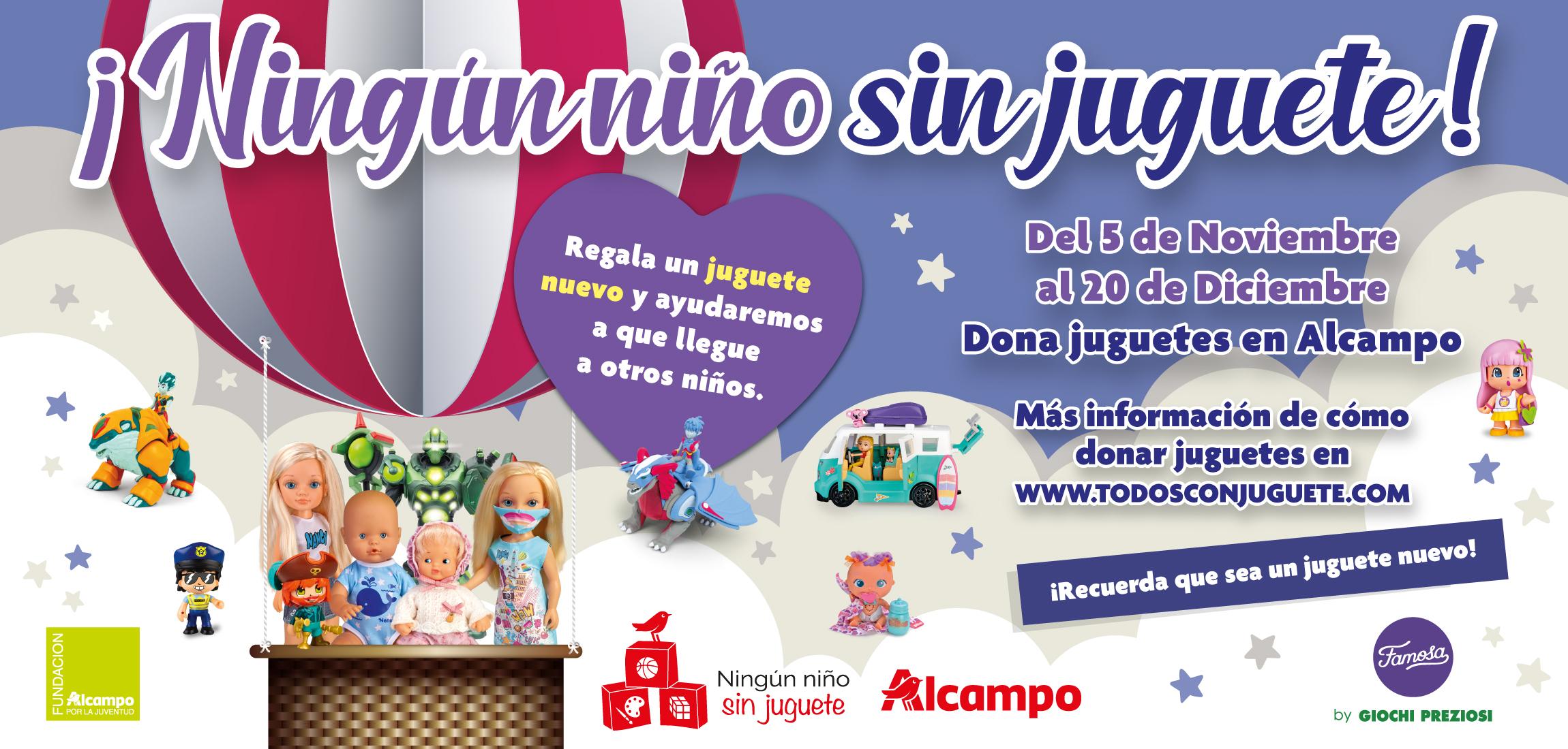 """""""Ningún niño sin juguete"""" finaliza con 12.000 juguetes nuevos que serán entregados a niñas y niños"""