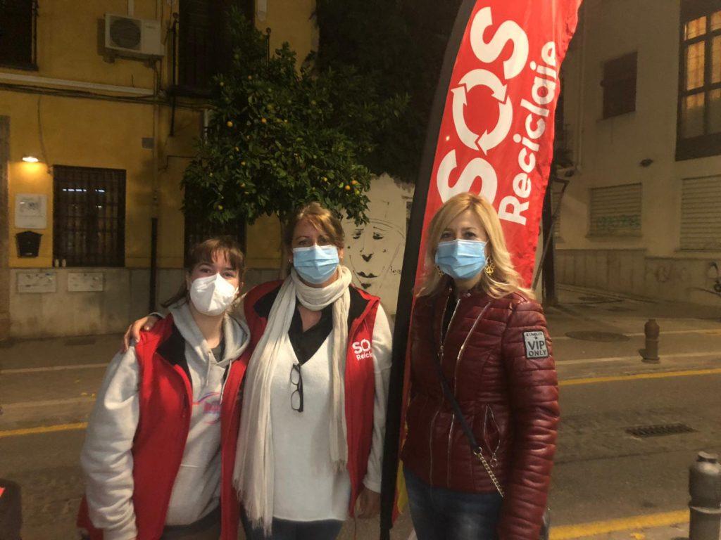 La campaña «SOS Reciclaje» concluye con éxito con la participación de 40.000 granadinos