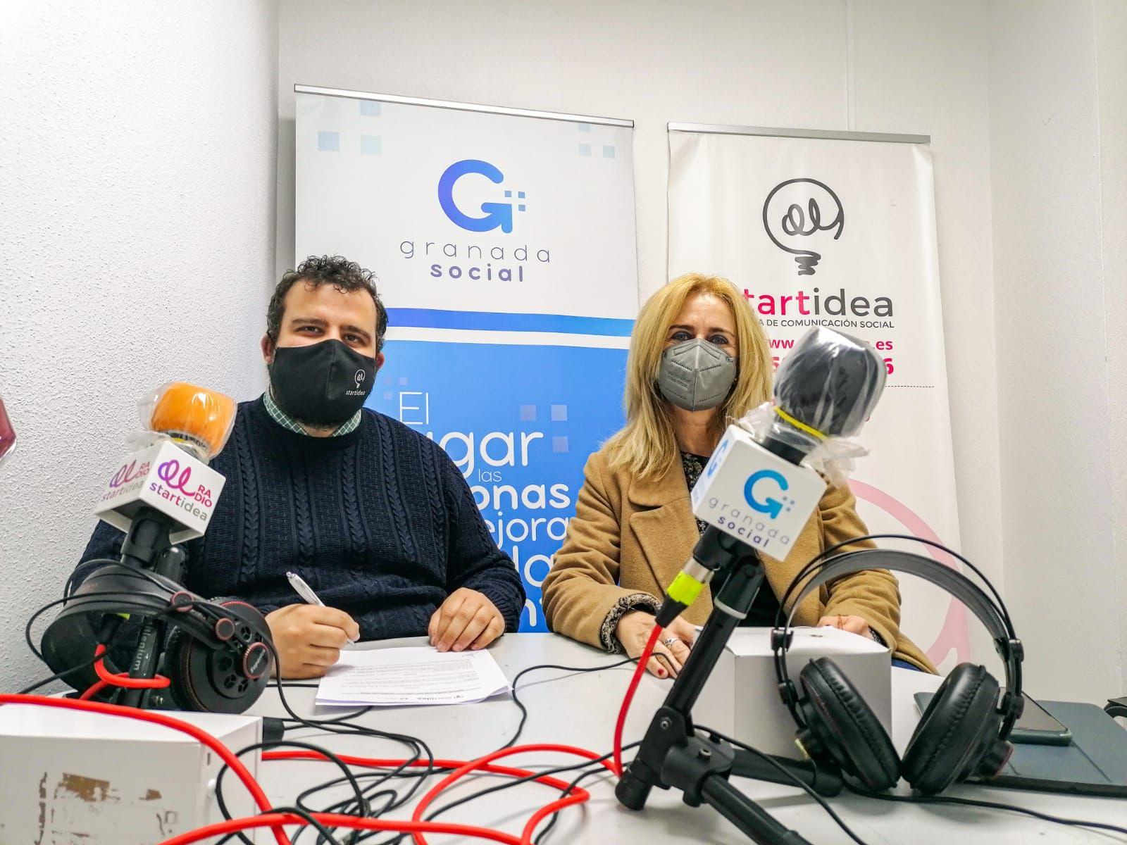 La Asociación Mujeres Con Iniciativa y Startidea firman un convenio para promover y difundir el emprendimiento femenino y diferentes acciones sociales a través de Granada Social
