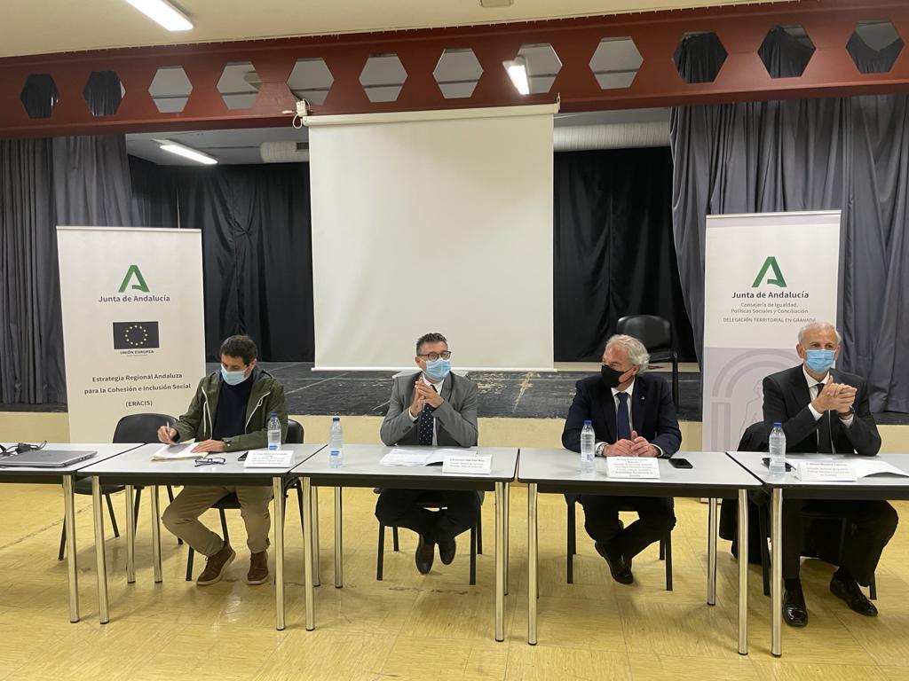 Ayuntamiento y Junta de Andalucía continúan su colaboración mutua frente a los problemas de las familias más vulnerables de la ciudad