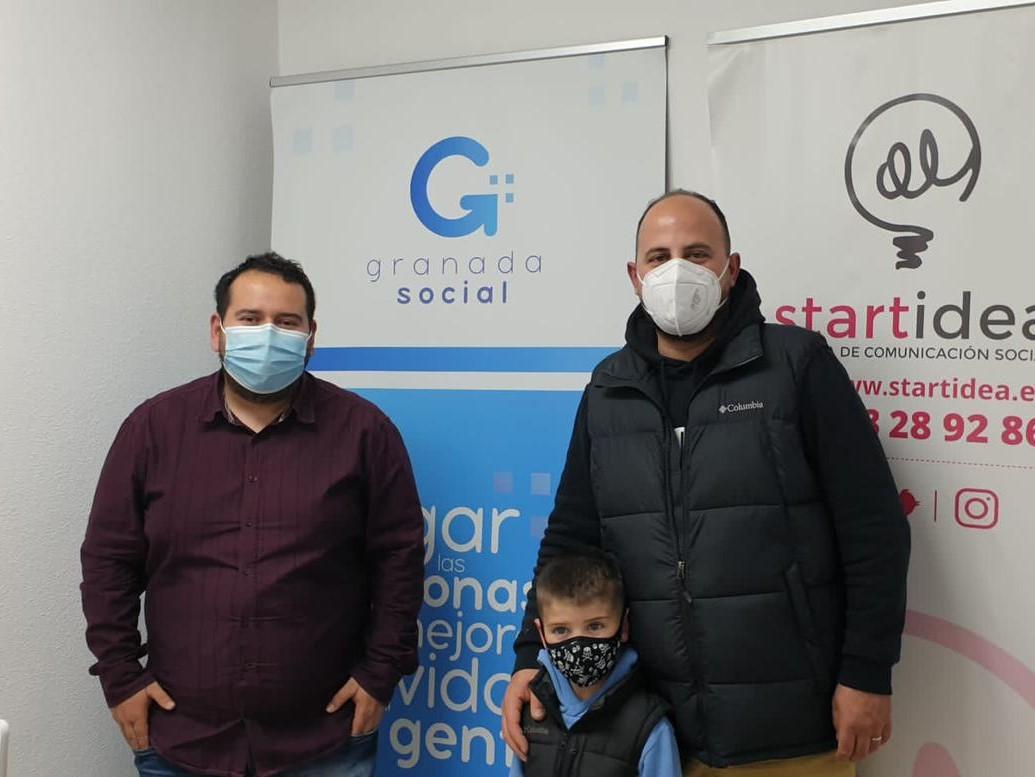 Israel Navarro y las labores sociales en tiempos de pandemia