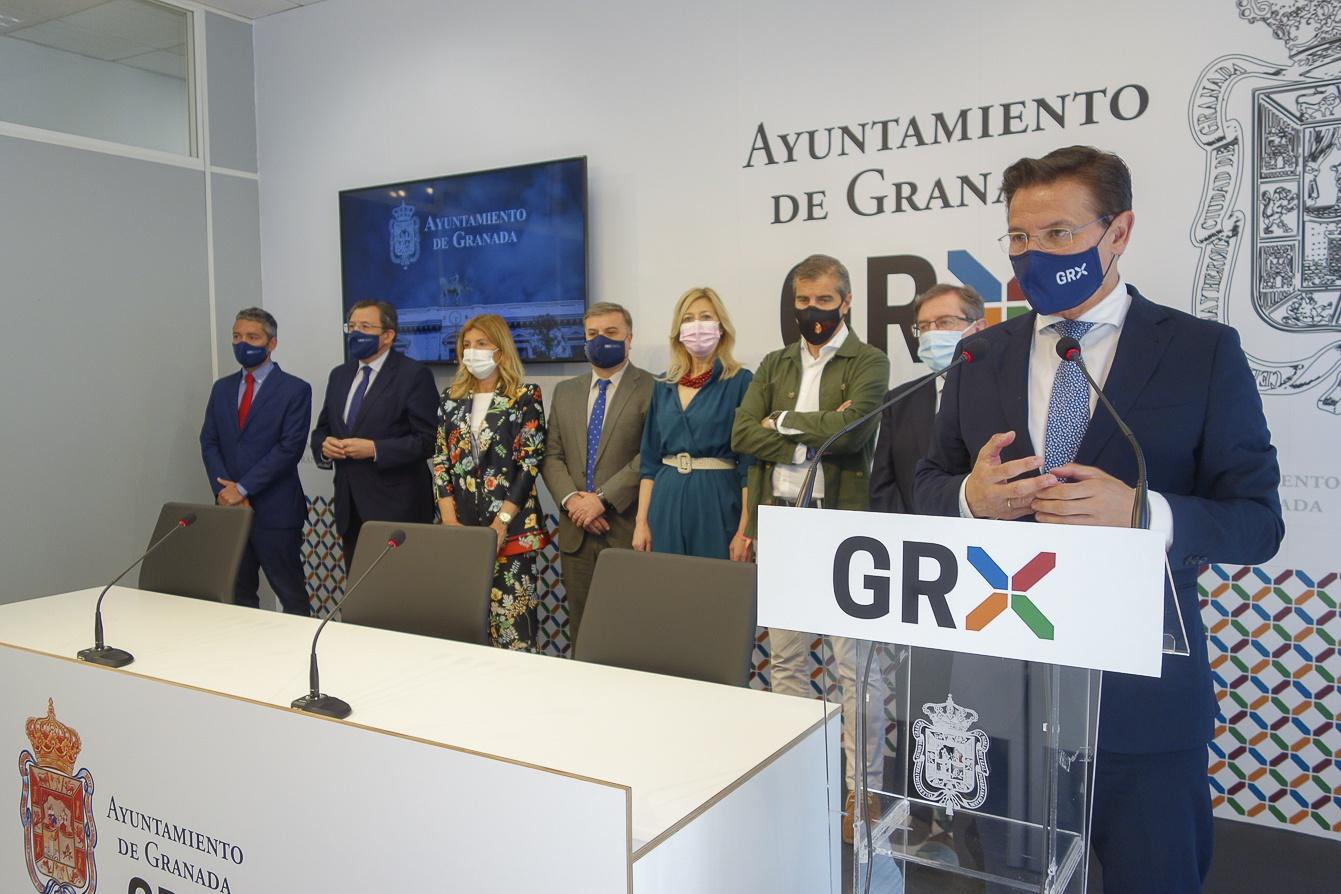 """El ayuntamiento inaugura """"GRX MEDIA"""", un nuevo espacio multimedia para facilitar la labor informativa de los medios de comunicación"""