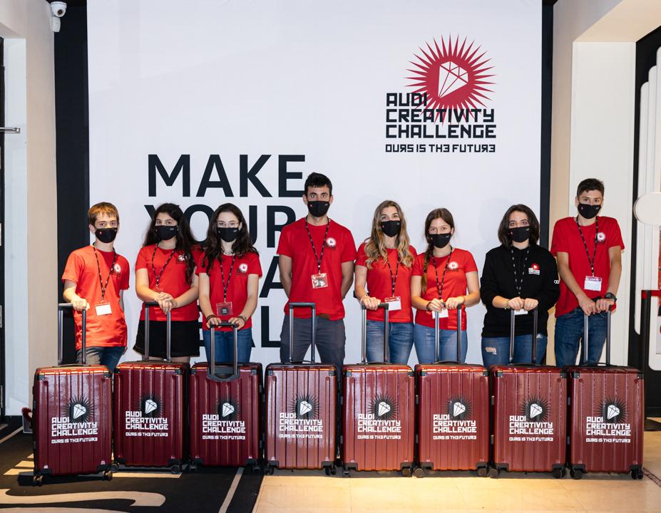 Un equipo de Granada ganador de la 5a edición del Audi Creativity Challenge