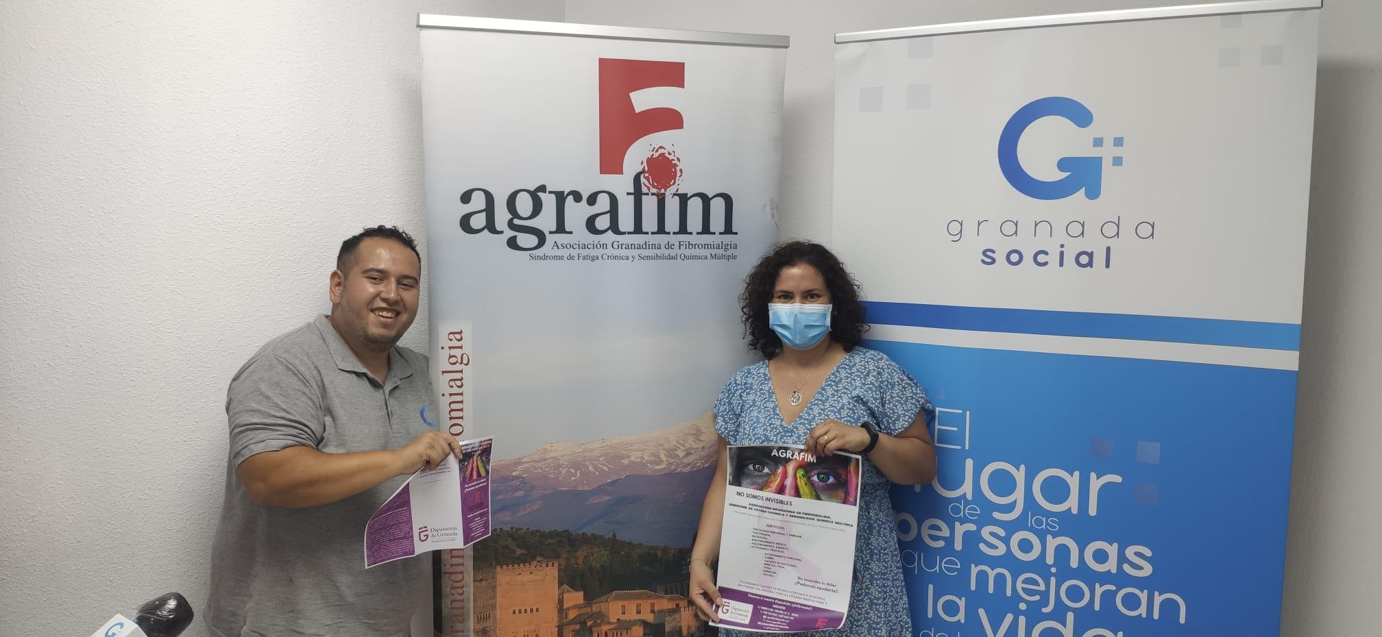 Conociendo AGRAFIM, Asociación Granadina de Fibromialgia, Síndrome de Fatiga Crónica y Sensibilidad Química Múltiple.