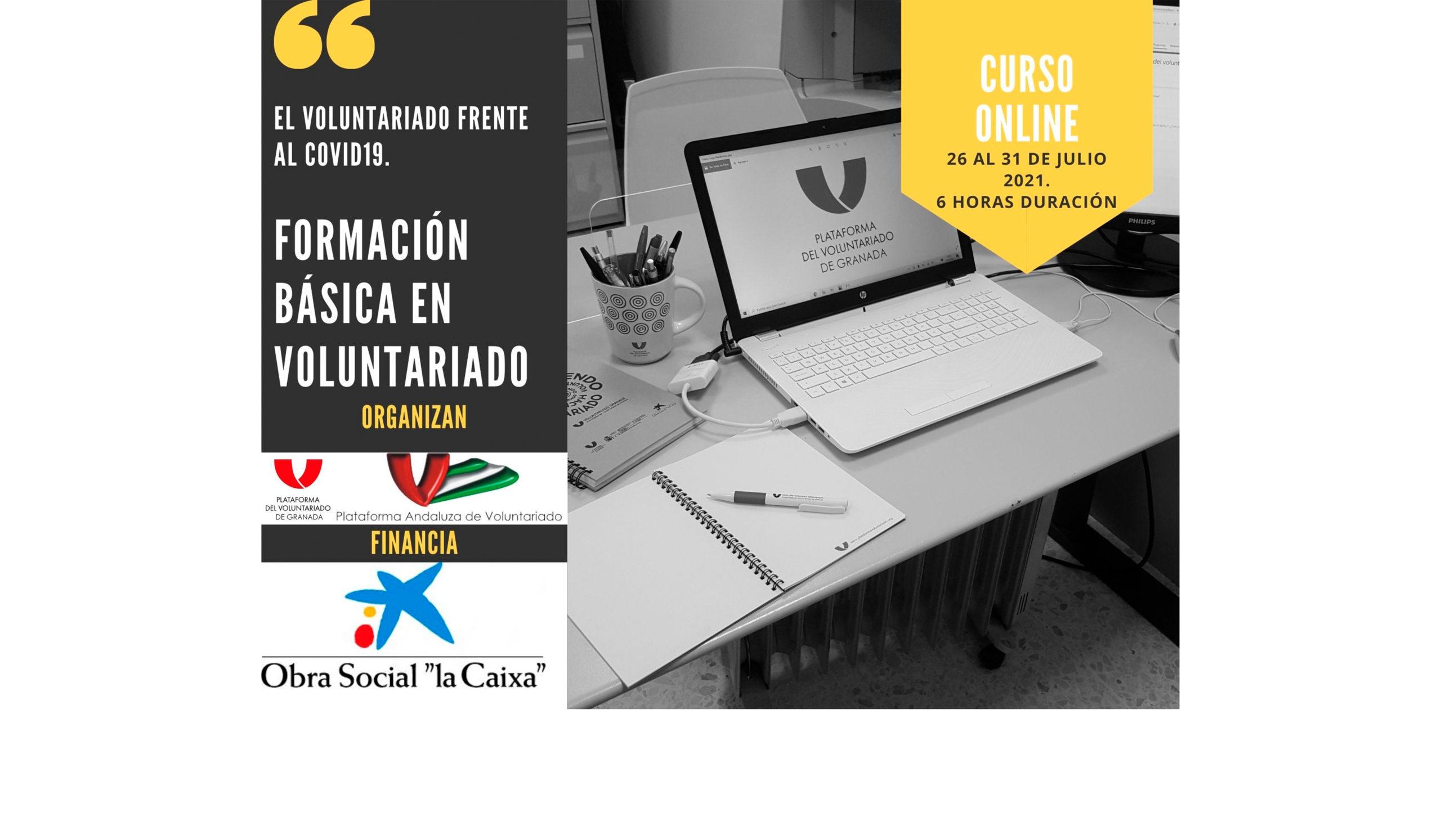 """Curso Online """"Formación básica en Voluntariado"""""""
