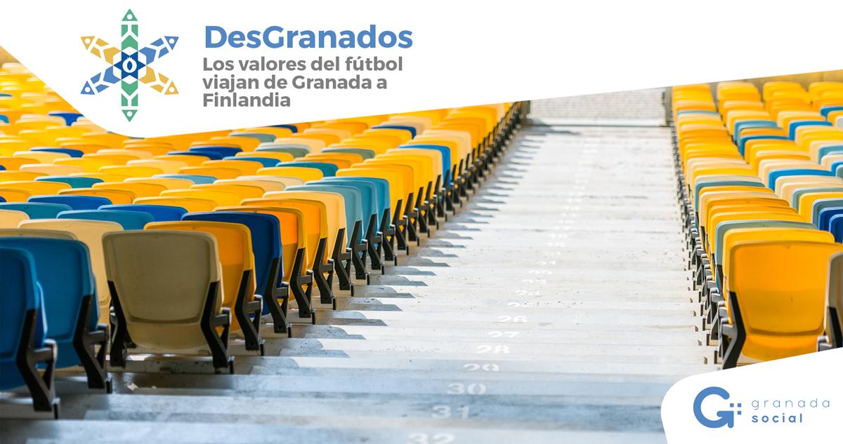 DESGRANADOS: Los valores del deporte viajan de Granada a Finlandia