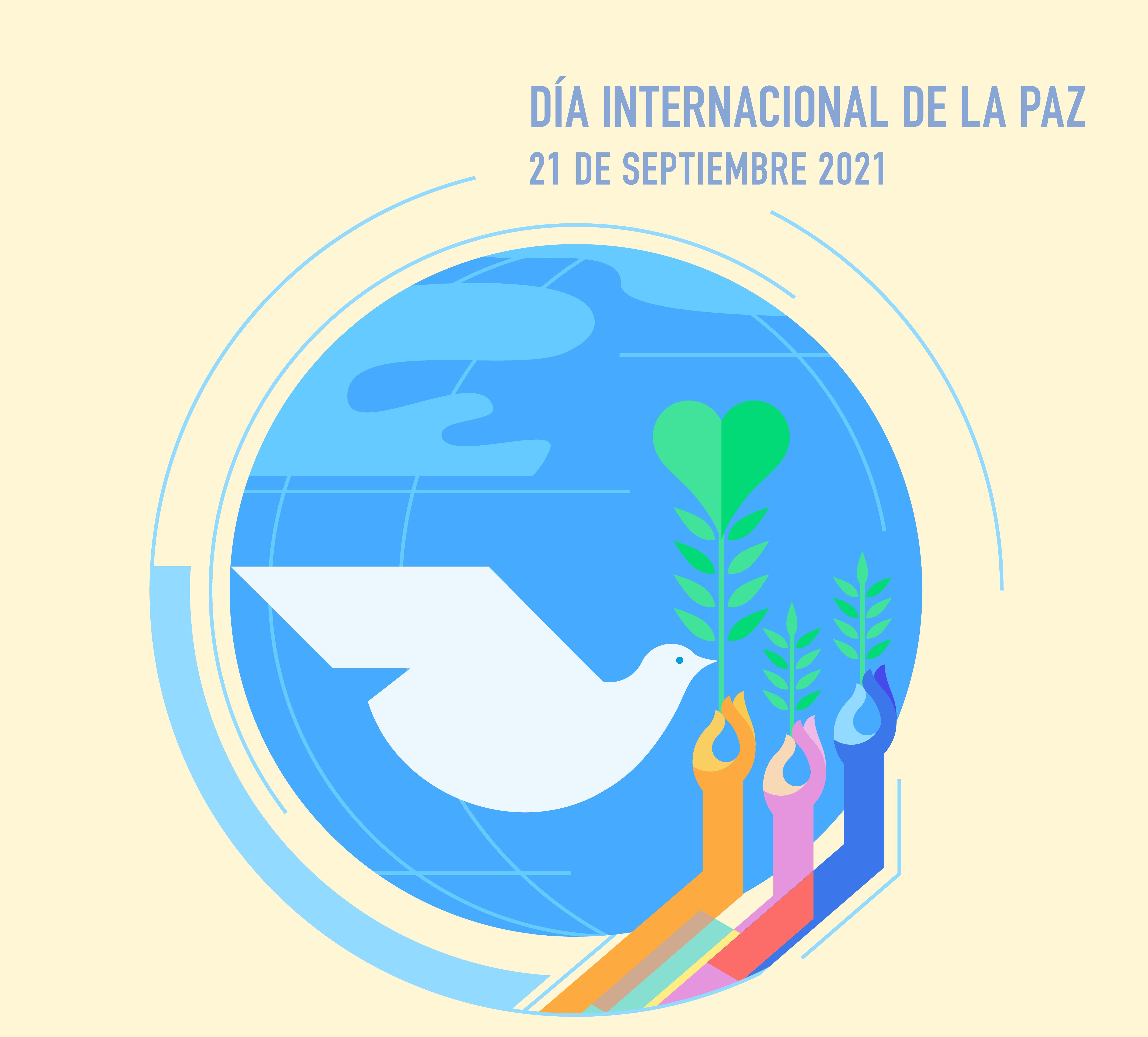 Día Internacional de la Paz: 'Un mundo sin violencia es posible'