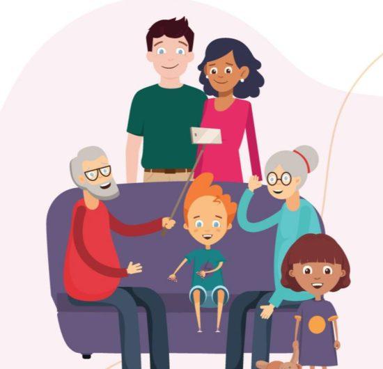 Recursos de aprendizaje en línea gratuitos para apoyar a familias disponibles gracias al proyecto Health@Home